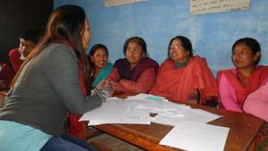 Active Womens Members from Bhokha Womens Group