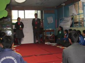 Presentation by participants