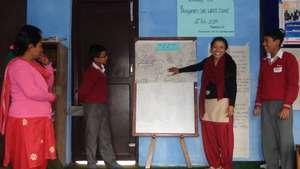 Ms. Mamita Shakya - Presenting Action Plan