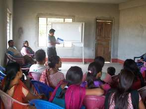 Orientating community on safe drinking water