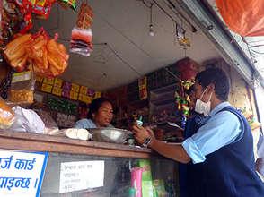 Orienting Shopowner on Chlorine