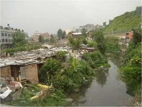 A Glimpses of Slum Area
