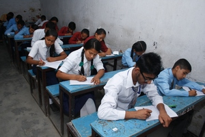 Students on Essay Competition