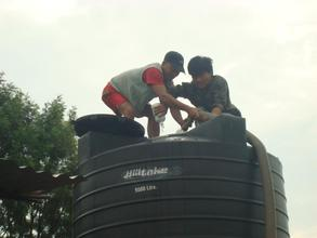 Use of WATASOL in the community water distribution