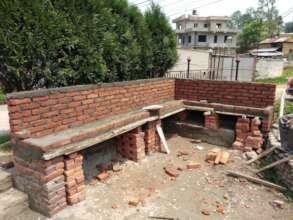 Construction work in progress