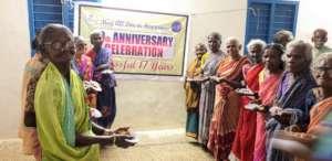 Elders celebrating
