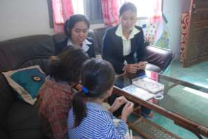 CTC Therapists working with survivors.