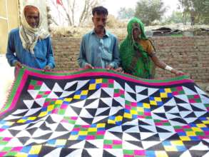 Sewing skill of women