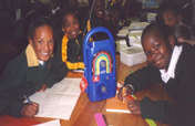 Radio education for South African AIDs orphans