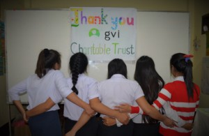 Thank you from our female-only class!