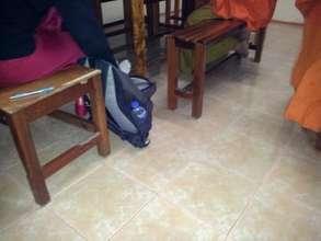 New tiled floor at WPS
