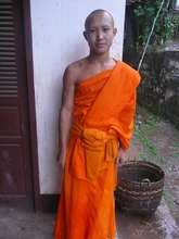 One of the Novice Monks being sponsored