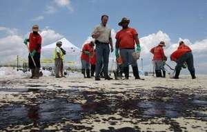 Oil on the Beach & Cleanup Efforts