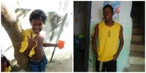Djair was a gentleman even as a little boy!