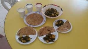 Warming, delicious and nutritious methi paratha