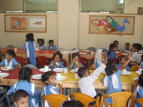 Children in the Breakfast Room