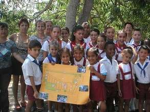 Green Map created by Cuban children