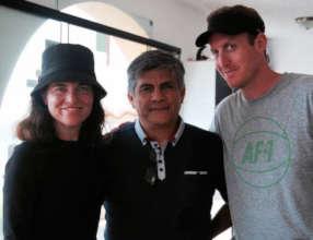 Courtney, Paul and Matt