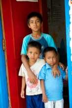 Chilren at the New Life Center in Kathmandu