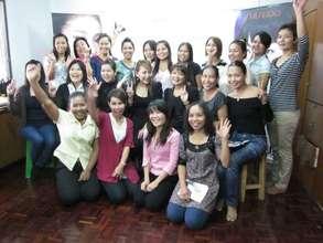 Our make up training workshop