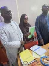 Atika presents her thesis to jury