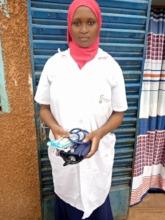 SAADIA with medical kit