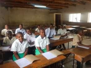 Rimbi High School Students Who Receive Help