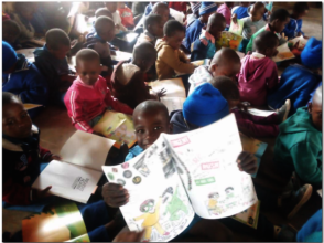 Rimbi Primary School Kids Reading Children's Books