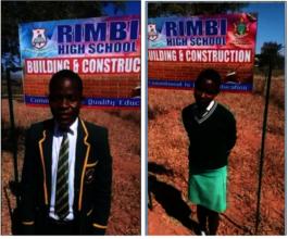 Students At Rimbi High