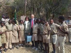 Scouts at a jamboree in Bulawayo