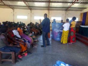 Malaria education session