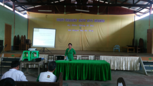 presentation at Tatkon 10th mile Myintkyina