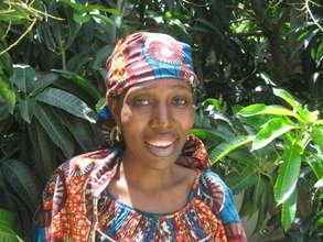 Fadimatou, EFA-trained HIV Peer Educator