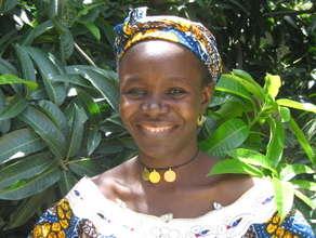 Mairamou Hamandjoum, EFA-trained HIV Peer Educator