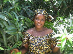 Danagai Oummoul, EFA-trained HIV Peer Educator