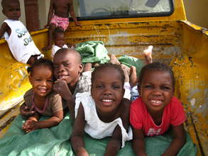 A few of the kids your donations have supported