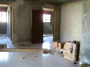 Installing doors - work should be done in a week