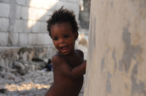 Another of the beautiful kids at the orphanage
