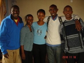 Our Kigali-based team, in Byumba
