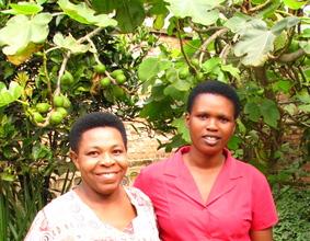 A girl and her elder after storytelling