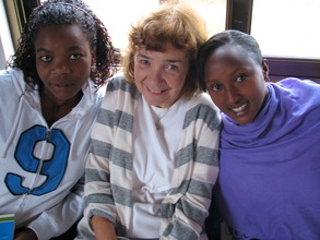 Donna with two counselors at ASYV