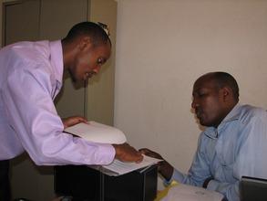 Tambo at the National Archives, Rwanda