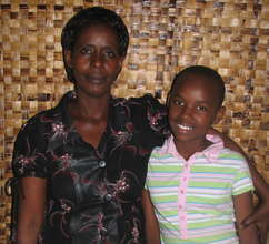 Chantal Ganhongayire and Salima Mzagisenga