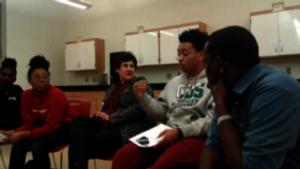 Students in Inspired Teaching's Speak Truth