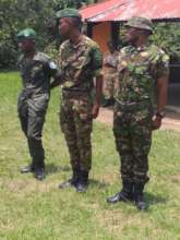 Newly Trained ICCN Eco-Guards