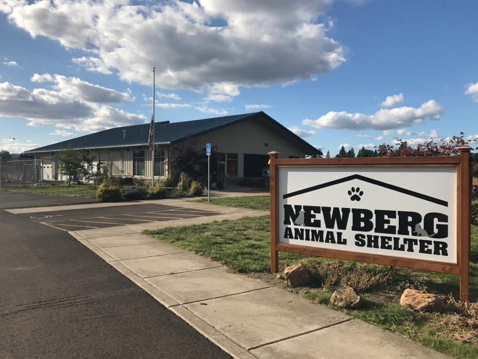 Support of Newberg Animal Shelter