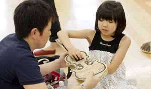 A future violinist at FESJ!