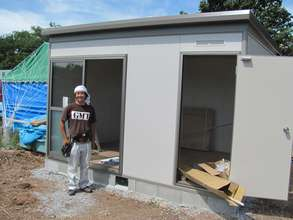 A new fishing shed. Courtesy of Peace Winds