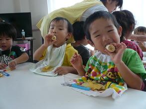 Bananas are their favorite! - AAR Japan