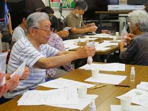 soap making class, photo courtesy of AAR Japan